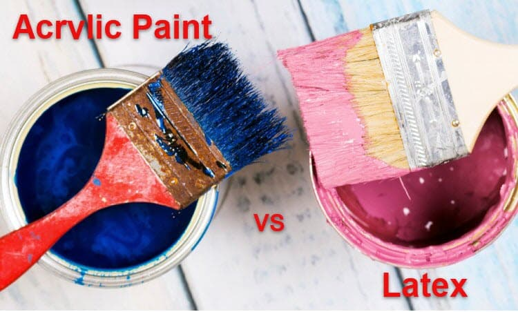 Acrylic Paint vs Latex