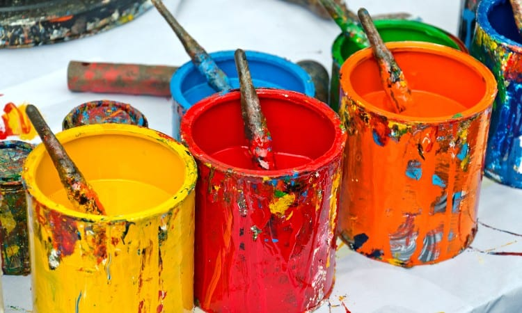 Difference between acrylic and enamel paint