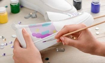 Acrylic Paint On Leather
