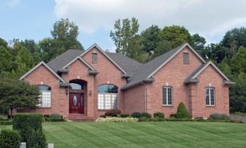 Door Colors Red Brick House