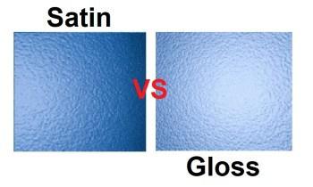 Gloss vs Satin