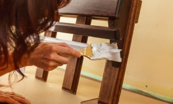 Paint Over Stain