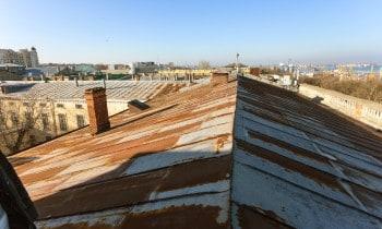 Painting Rusty Metal Roof
