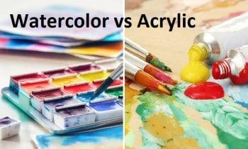 Watercolor Acrylic Paint