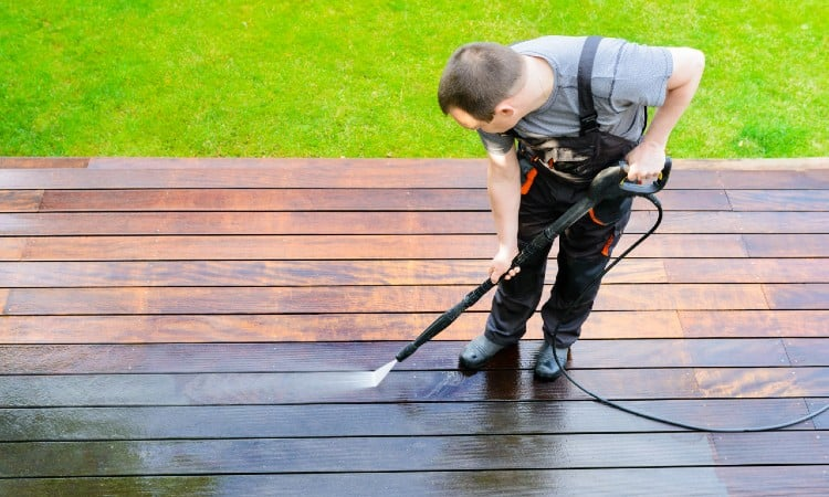 How to Remove Solid Stain from Wood Deck