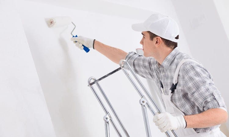 How to Use Ceiling Paint on Walls