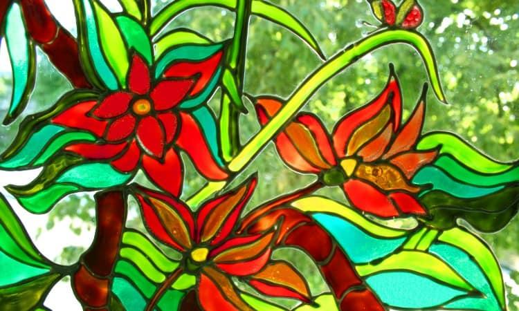 Waterproof glass paint